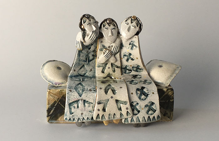 3 Friends | Helen Martino Pottery | Cambridge Potter