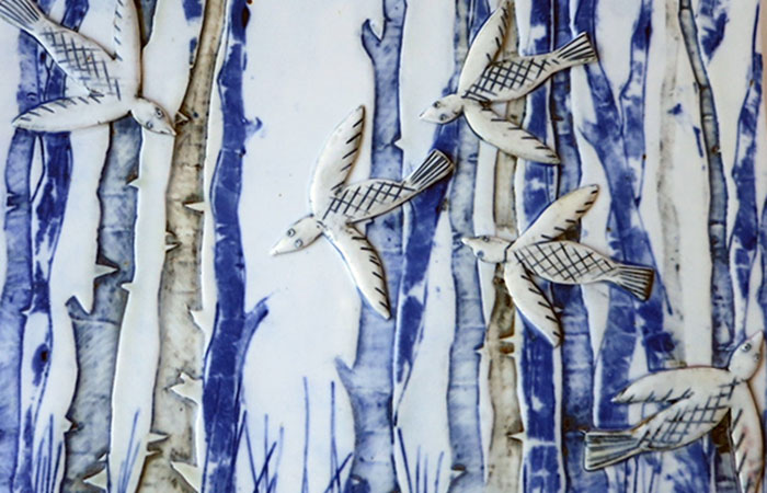 Happy In The Woods| Helen Martino Pottery | Cambridge Potter