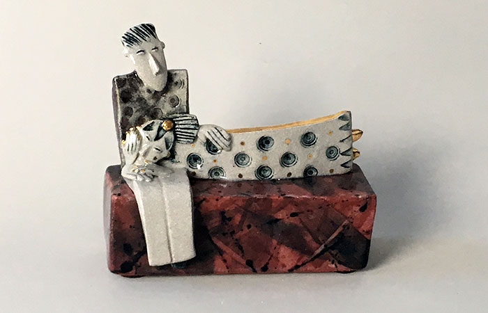 Cuddle | Helen Martino Pottery | Cambridge Potter