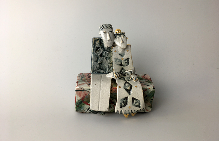 Holding hands | Helen Martino Pottery | Cambridge Potter