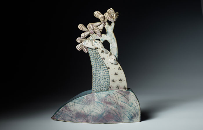 Resting at the top | Helen Martino Pottery | Cambridge Potter