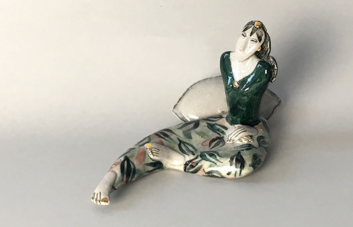 Just Sitting | Helen Martino Pottery | Cambridge Potter