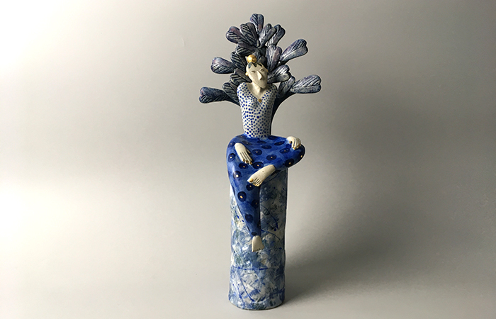 In the shade of the tree | Helen Martino Pottery | Cambridge Potter