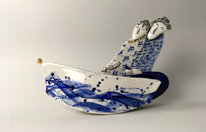Off on a jaunt | Helen Martino Pottery | Cambridge Potter