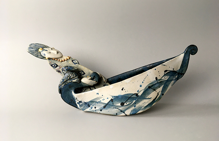 On the high seas | Helen Martino Pottery | Cambridge Potter
