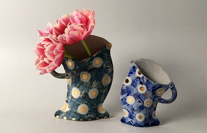 Spotty Mugs | Helen Martino Pottery | Cambridge Potter