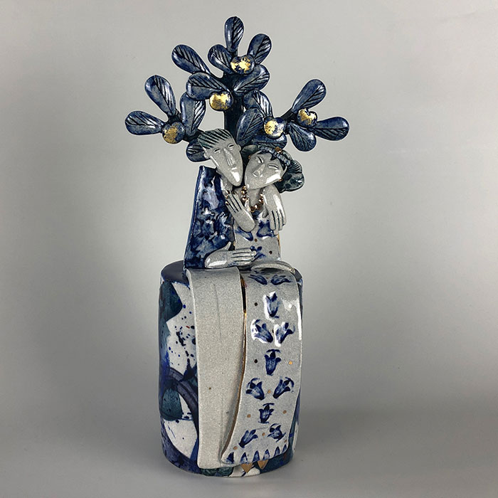 The Biscuit Factory | Newcastle Upon Tyne | Online Exhibition 2020 | The Golden Apples of The Sun Helen Martino Ceramics | Potter | Cambridge